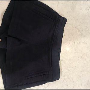 Lululemon Navy Woven Shorts